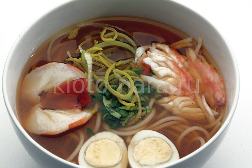Как сделать японское блюдо рамен